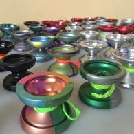 Melford's favorite yo-yo, front and center