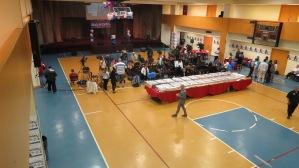Rangel HQ early on primaries night